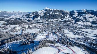 Wintersport skigebied Kitzbühel-Kirchberg