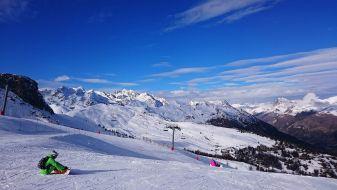 Wintersport La Salle les Alpes
