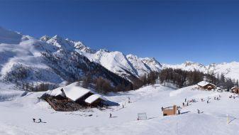 Wintersport Le Monêtier-les-Bains