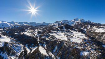 Wintersport Le Sauze