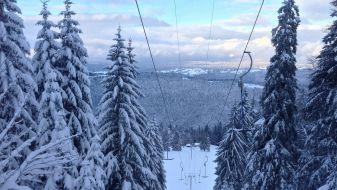 Wintersport Les Buttes