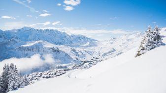 Wintersport Les Crosets - Niels Ebel
