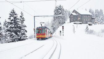 Wintersport Les Diablerets