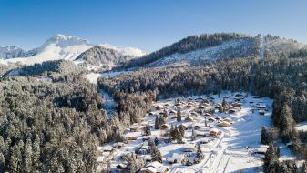 Wintersport Les Paccots