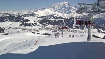 Wintersport Les Saisies