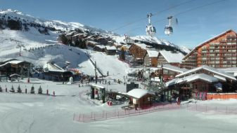 Wintersport Méribel Mottaret