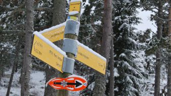 Wintersport in Mont Serein
