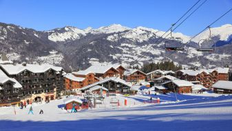 Wintersport Morillon 1100 Les Esserts