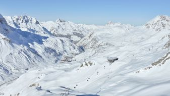 Wintersport Oberlech