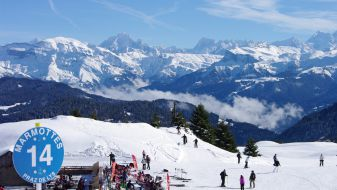 Wintersport Praz de Lys
