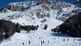 Wintersport Zuid Tirol - Ski Latemar