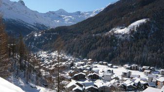 Wintersport Saas-Grund