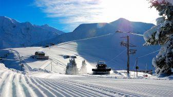 Wintersport in Saint Gervais