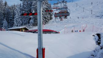 Wintersport Saint Nicolas de Veroce