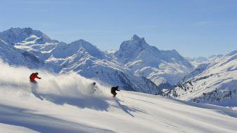 Wintersport skigebied Ski Arlberg - Sankt Anton