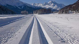 Wintersport Sankt Moritz Bad