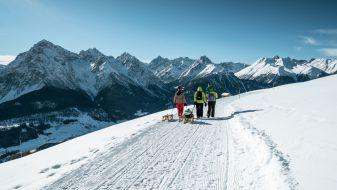 Wintersport skigebied Engadin Scuol Zernez