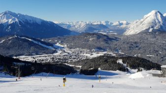 Wintersport Seefeld in Tirol