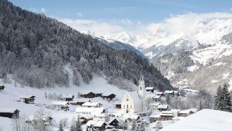 Wintersport Silbertal