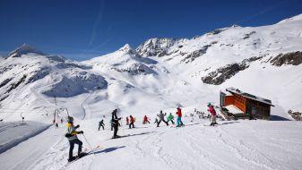Wintersport Weißsee Gletscherwelt
