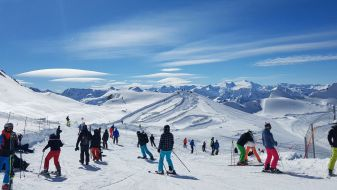 Wintersport skigebied Zell am See-Kaprun