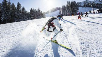 Wintersport Zöblen