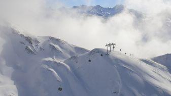 Wintersport Zürs