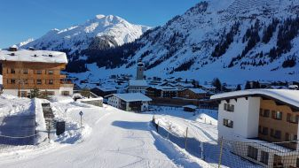 Wintersport in Lech
