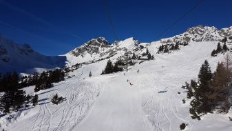 Wintersport in Vorarlberg - Brandnertal