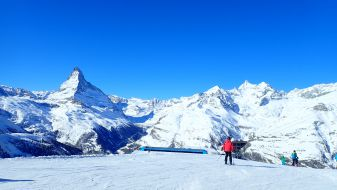 Wintersport Zermatt