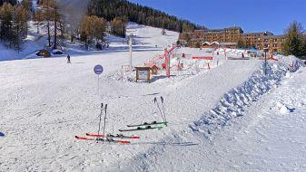Wintersport skigebied Les Karellis