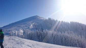 Wintersport La Berra