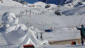 Silvretta Arena - ijssculpturen