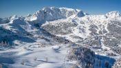 Skigebied Nassfeld Presseger See