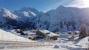 Skien in Oberlech