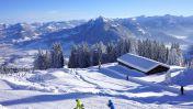 Skiën in Schwarzenberg. Foto: © Alois Metzler - Schwarzenberg Tourismus
