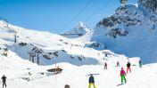 Skiën in Weißsee
