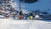 Skigebied van Alpbach