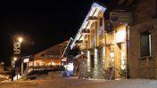 Skigebied La Norma in de avond