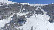 Skigebied Les Orres - Vue aérienne