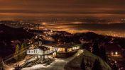 Skigebied Niedere in de Avond