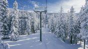 Skigebied van La Rosière