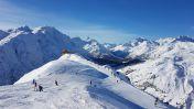 Skigebied van Lech