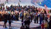 Skishow in Auron