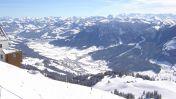 SkiWelt Wilder Kaiser - Brixental. Uitzicht over Brixen im Thale