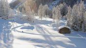 Langlaufen in Klosters