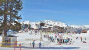 Wintersport skigebied Nauders am Reschenpass