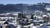 Wintersport skigebied Niedere