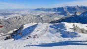 Wintersport Duitsland - Pfronten