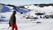 Wintersport skigebied Alpenarena Hochhäderich - Riefensberg